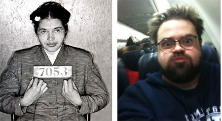 Rosa Parks and Kevin Smith, no comparison